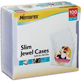 Memorex Slim CD Jewel Case - 01992
