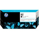 HP 80 Black Printhead/Cleaner C4820A