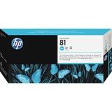 HP 81 Cyan Printhead/Cleaner C4951A