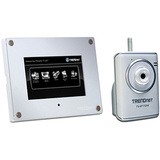 TRENDnet SecurView 7' Wireless Camera Monitor Kit