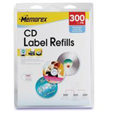 Memorex Matte CD Label 00403