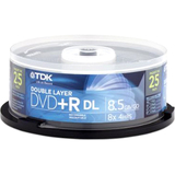 TDK 8x DVD+R Double Layer Media