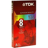 TDK Life on Record 38645 VHS Videocassette - 38645