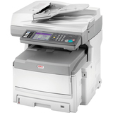 Oki MC860 LED Multifunction Printer - Color - Plain Paper Print - Floor Standing