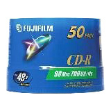 Fujifilm 48x CD-R Media