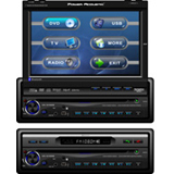 Power Acoustik PTID-8940NRBT Car Video Player with Bluetooth