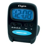 3502E - Geneva Clock LCD Travel Alarm Clock