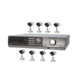 Q-see QSTD2408C8-320 8-Channel Video Surveillance System