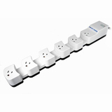 Cables Unlimited Socket Sense 6-Outlet Expandable Surge Suppressor