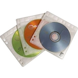 Case Logic ProSleeve II 50 Double Sided CD Sleeves - PSR100