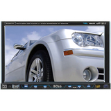 "BV8970 - Boss BV8970 Car DVD Player - 8"" Touchscreen LCD Display - 1440 x 234 - 68 W RMS - iPod/iPhone Compatible - In-dash - Single DIN"
