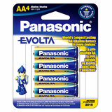 Panasonic EVOLTA Alkaline General Purpose Battery LR6EGA4B