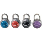 Master Lock Colored Dial Combination padlocks