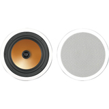 BIC America Acoustech HT-8C 175 W RMS Speaker - 2-way - White