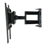 Peerless PA760 Articulating Wall Arm - 130 lb - Black - PA760