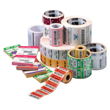 Zebra Label Paper 2.25 x 1.25in Direct Thermal Zebra Z-Select 4000D 1 in core 10010051