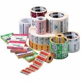 Zebra Label Polypropylene 2.25 x 1.25in Direct Thermal Zebra PolyPro 4000D High Tack 1in core 10010063