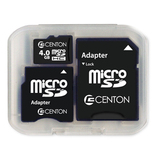 Centon 4GB Micro Secure Digital High Capacity (SDHC) Card - Class 6