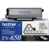 Brother High Yield Black Toner Cartridge - TN650