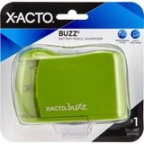 X-Acto Buzz Battery-Operated Pencil Sharpener - Handheld - Assorted