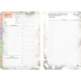 Franklin Covey 35444 Blooms Garden Design Planner Refill