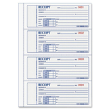Rediform Carbonless Rent Receipt Forms