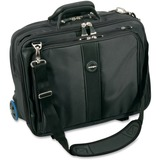 "Kensington Contour Carrying Case (Roller) for 17"" Notebook - Black - 62348"