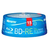 Memorex 4x BD-RE Media 97855