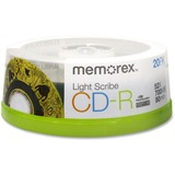 Memorex LightScribe 52x CD-R Media 04732