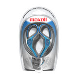 Maxell EH-130 Stereo Earphone - Connectivity: Wired - Stereo - Over-the-ear - Blue
