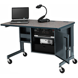 UCS880-RN-16-R - Bretford Basic UCS880 Mobile Multimedia Instructor Desk