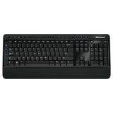 Microsoft 3000 Keyboard - Wireless - Black
