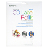 Memorex 00424 CD/DVD Label - 120 / Pack