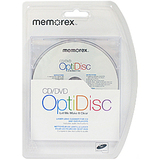 Memorex OptiDisc 08003 CD/DVD Lens Cleaner 08003