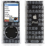 Griffin iClear Sketch Multimedia Player Skin for iPod Nano