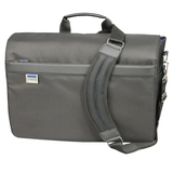 Microsoft MT 17' Messenger Notebook Bag with Blue Trim