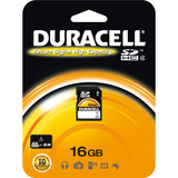 Duracell 16GB Secure Digital High Capacity (SDHC) Card - Class 2