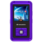 XOVision EM102VID 2 GB Purple Flash Portable Media Player