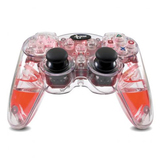 dreamGEAR DGPS3-1347 Lava Glow Wireless Controller With Rumble