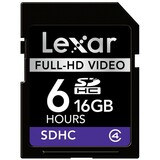Lexar Media 16GB Secure Digital High Capacity (SDHC) Card