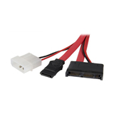 StarTech.com Micro SATA to SATA with LP4 Power Adapter