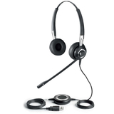 GN Jabra BIZ 2400 Duo USB Headset - Wired Connectivity - Stereo - Over - 2499829105