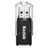 Lexar Media 8GB Kodak USB 2.0 Flash Drive KJDOF8GBSBNA