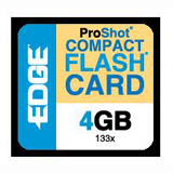 EDGE Tech 4GB CompactFlash (CF) Card - 133x