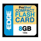 EDGE Tech 8GB CompactFlash (CF) Card - 133x - 8 GB