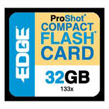 EDGE Tech 32GB CompactFlash (CF) Card - 133x