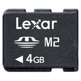 Lexar Media 4GB Memory Stick Micro (M2) Card - 4 GB