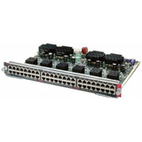 Cisco 48-Port Gigabit Ethernet Line Card with PoE