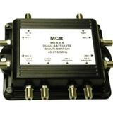 C2G 5x4 Way Satellite Splitter 41059