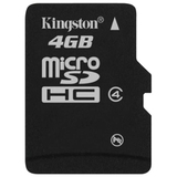 Kingston 4GB Micro Secure Digital High Capacity (SDHC) Card